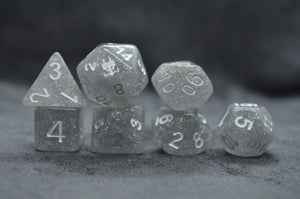 Leviathan Dice Holographic Glitter Leviathan Exclusive Dice Set