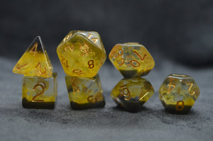 Leviathan Storm Gold Exclusive Dice Set