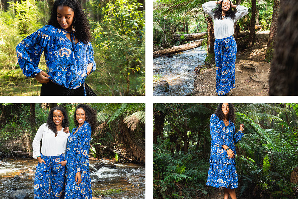 Bluebell Floral Story