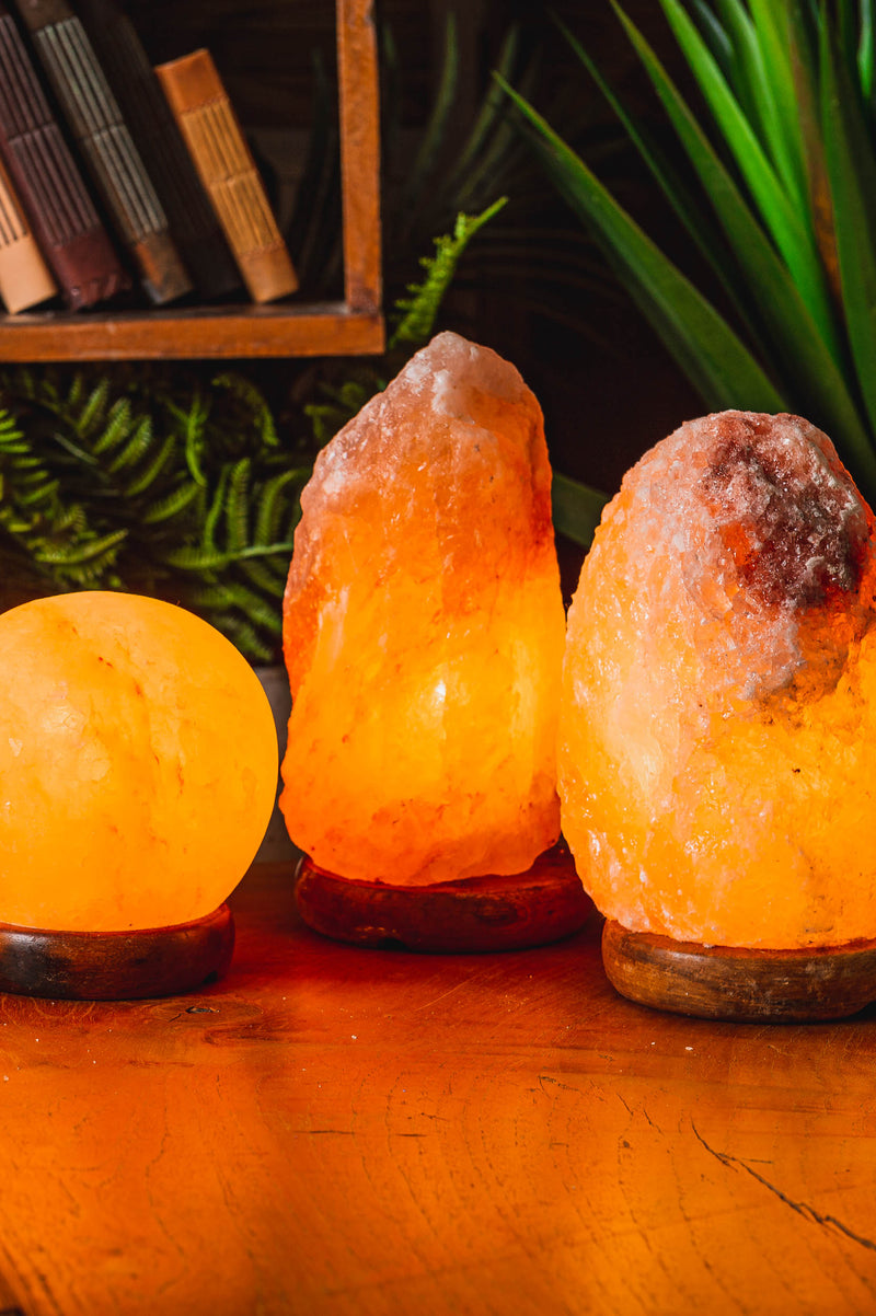 2-3kg Salt Lamp - 12Vdc E14 12Watt