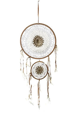 2 Ring Crochet Dreamcatcher