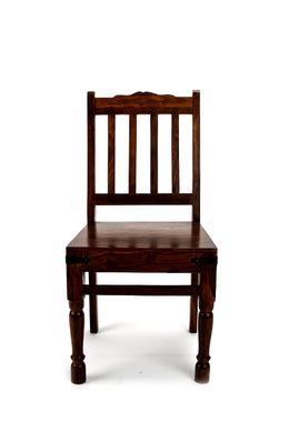 Chair Dining Thakat Shesham Walnut 45x45x97cm