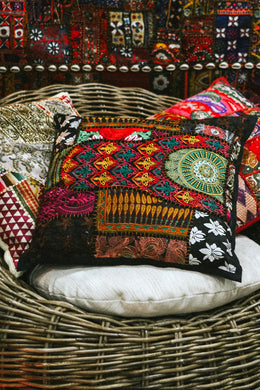 Black Suti Cushion