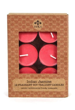 Soy Tealight Candles - Indian Jasmine