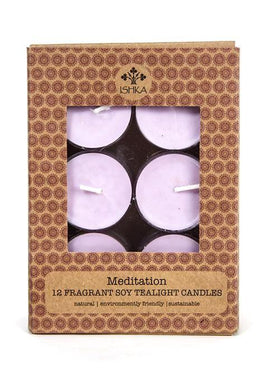 Soy Tealight Candles - Vanilla