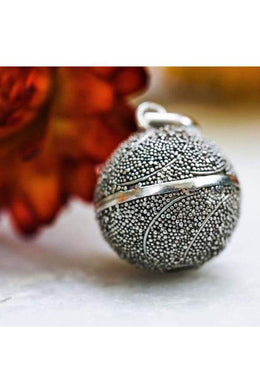 21mm All Over Dotted Harmony Ball Pendant