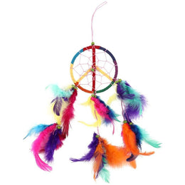 Rainbow Peace Dreamcatcher