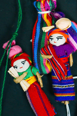 Assorted Mayan Worry Doll Magnets