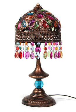 Tangier 20x20x45cm Table Lamp