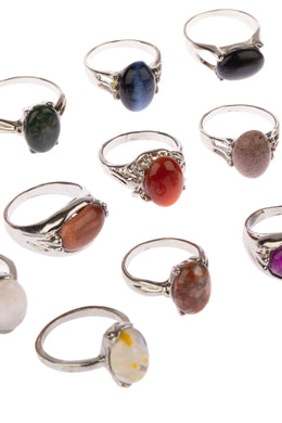 Assorted Shape Gemstone Ring
