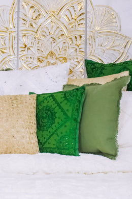 Small Green Pakka Cushion