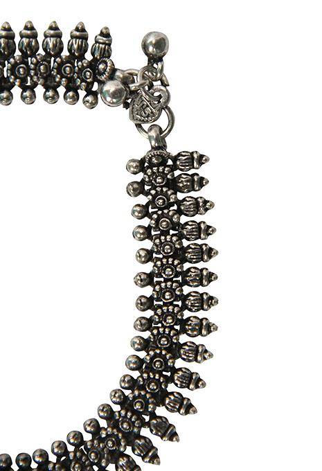 Anklet Ornate Indian 2 Piece
