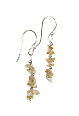 Gemstone Chip Earrings