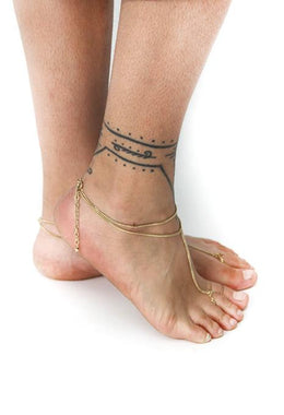 Anklet Fine Silver Chain