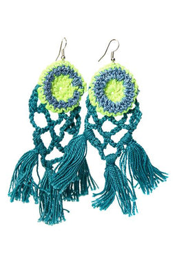 Fine Handmade Crochet Earrings