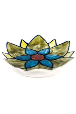 Ceramic Flower Incense Holder