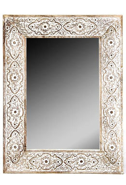Sulfi Carved Mirror