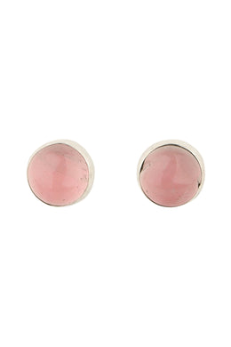 Stud Plain Gemstone Earrings