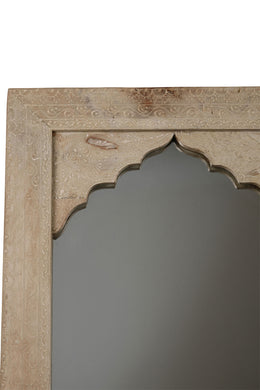 Mirror Mehrab Painted Henna White 40x2x55cm