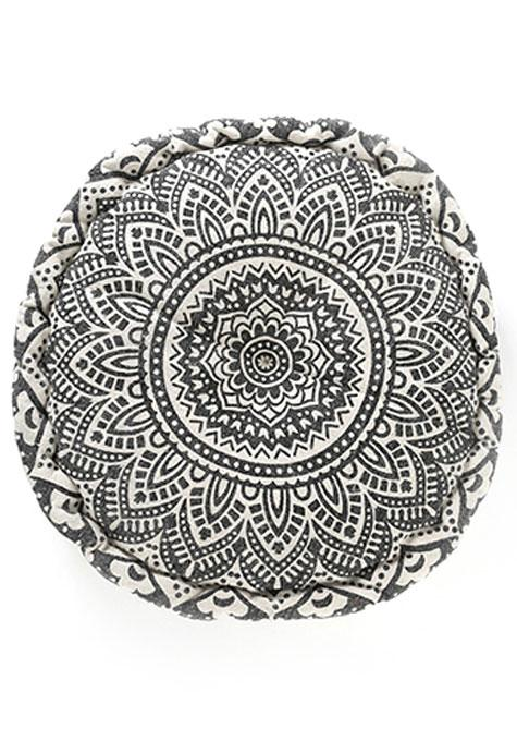 Black & White Mandala Gaddi