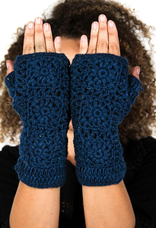 Assorted Nepalese Fingerless Gloves