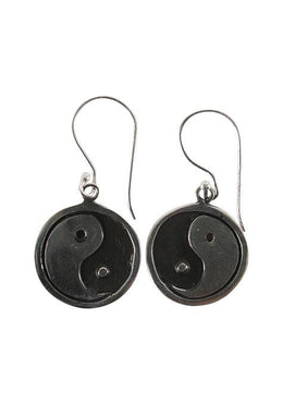 Set Earrings & Pendant Yin Yang