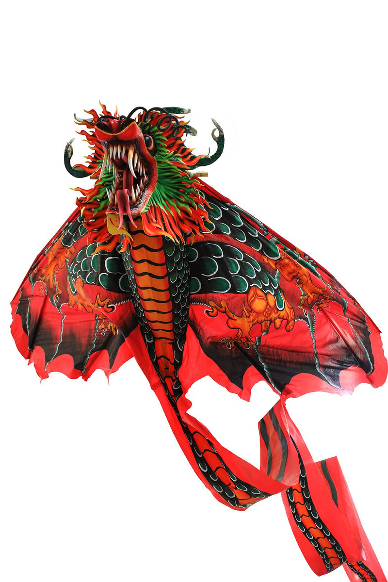 Handpainted Terbang Dragon Kite