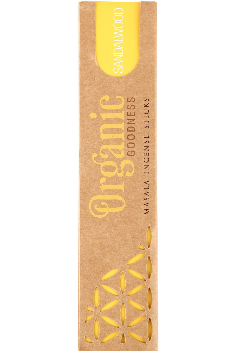 Organic Goodness Sandalwood Incense Sticks