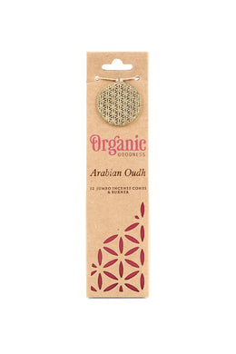 Organic Goodness Incense Cones and Burner Set