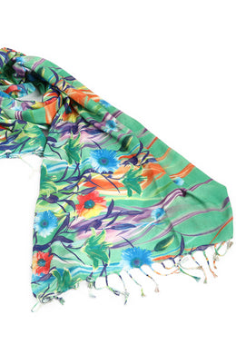 Silk Digital Scarf