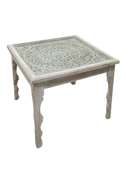 Square Mandala Dining Table