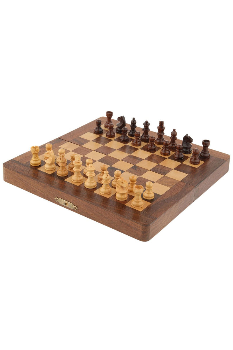 Chess & Backgammon Box Set
