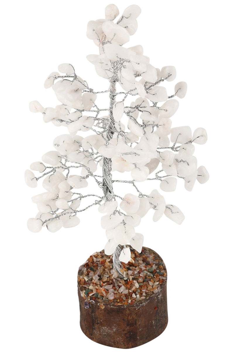 Large Snow Quartz Gemstone Tree
