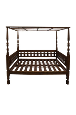 Repro Four Poster Cecilia Queen Bed