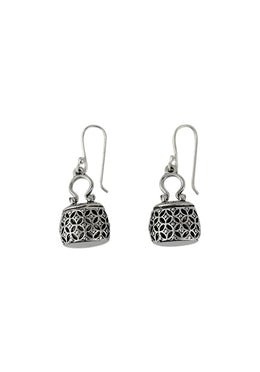 Jali Basket Earrings