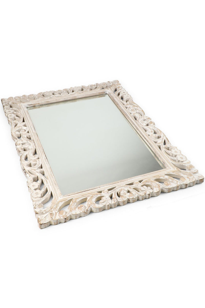 Carved Bowen Mirror