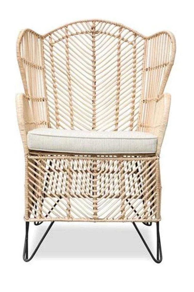 Lounge Chair Rattan King 65x65x95cm