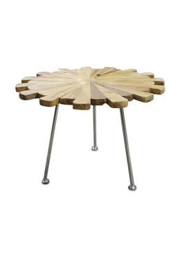Table Side Matahari Stainless Steel Dia70x50cm