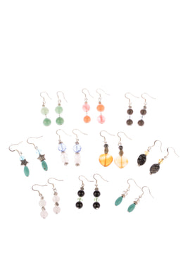 Assorted Gem Earrings