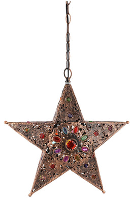 Star Multicolour Pendant Lamp