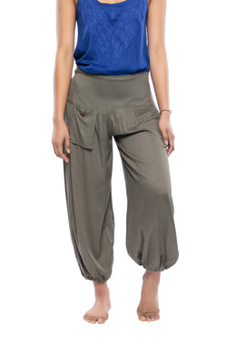 Harem Pants with Pockets