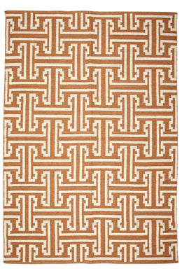 Large Umber Viking Rug