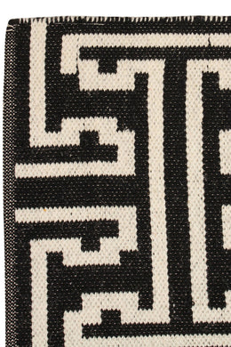 Extra Large Black Viking Rug
