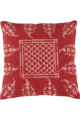 Cushion Cotton Dabu Printed 45x45cm