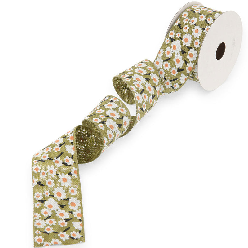 Butterfly Linen Ribbon