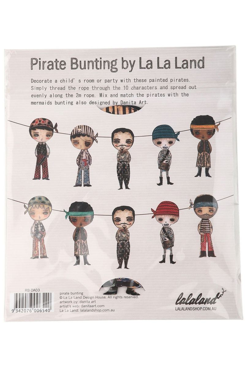 Pirate Bunting by La La Land