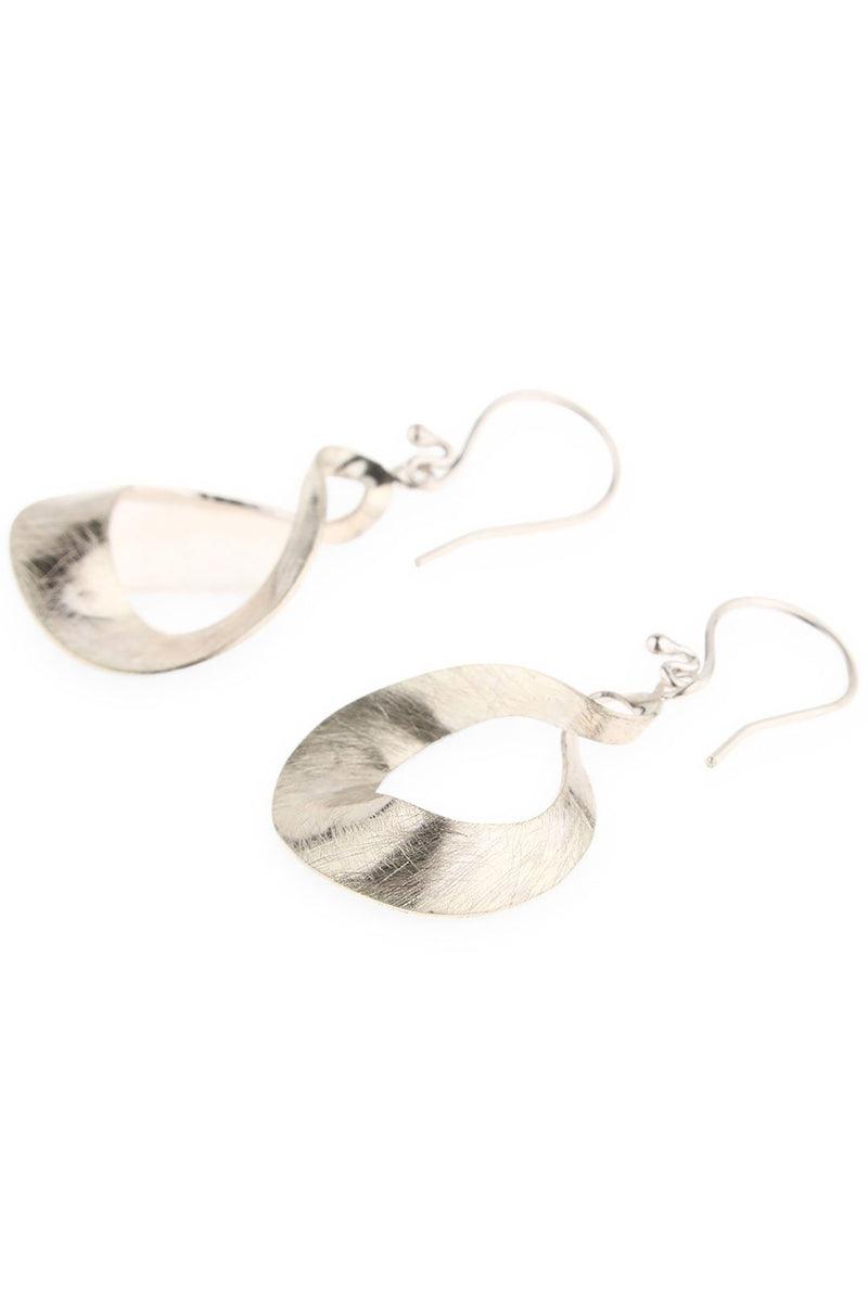 Twisted Loops Droplet Earrings