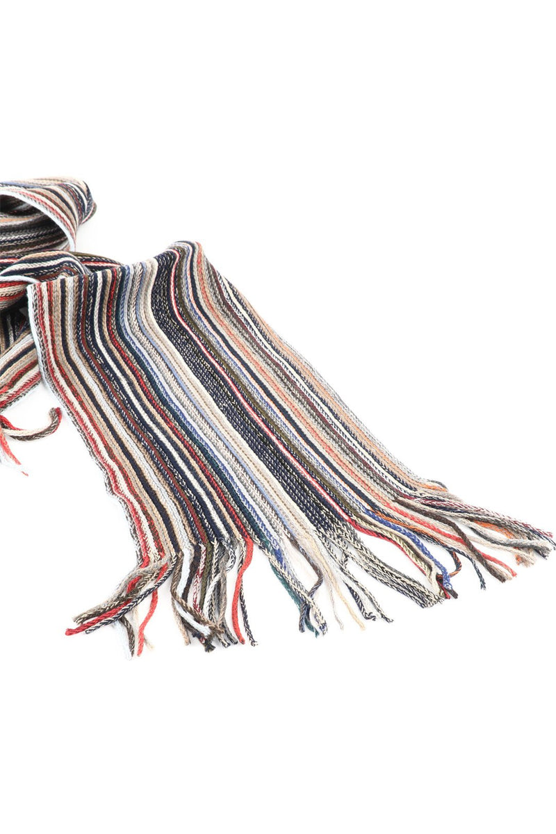 Scarf Textured Stripe Mini Assorted 20x170cm