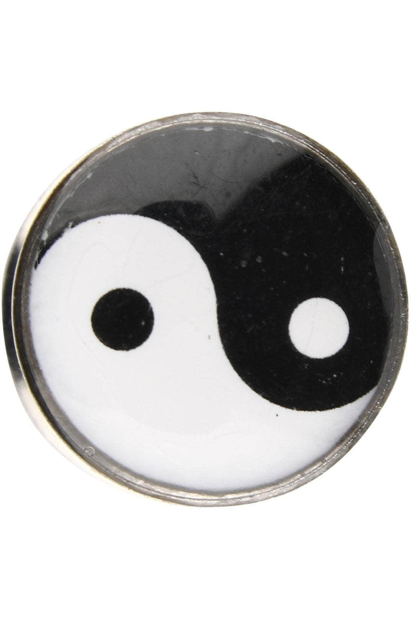 Yin Yang Surgical Steel Ear Stretcher