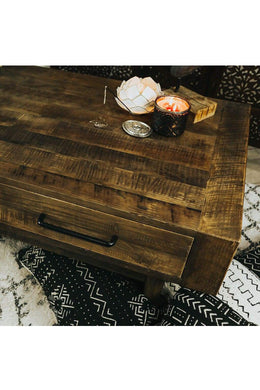 Repurposed Tracy Timber Coffee Table